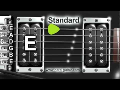 Best Online Guitar Tuner - E Standard Tuning (E A D G B E)