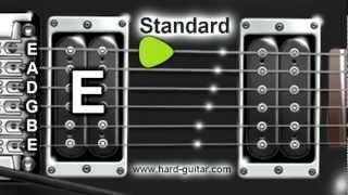 Best Online Guitar Tuner - E Standard Tuning (E A D G B E) thumbnail