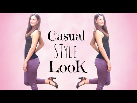 Casual Outfit of the Day! Maroon Ladies Tight Pants Outfit Ideas for Women, Sexy Outfits Fashion