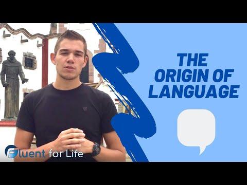 The Origin of Language - Fluentforlife.com