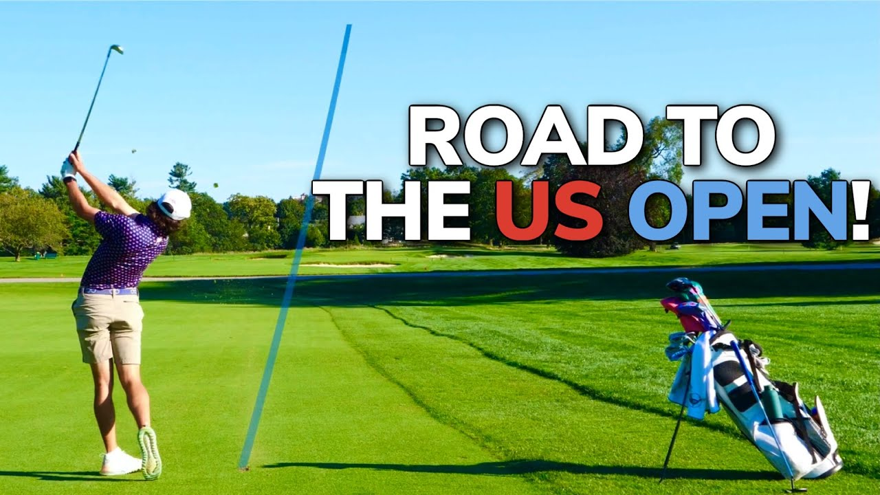 Download How HARD Is The 2022 US OPEN Course?? Playing Golf at an EXCLUSIVE Club! (Back Nine)