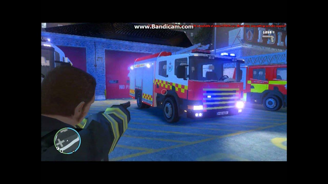 Gta 4 Australian Mods Scania Fire Engines Nws Pc Games