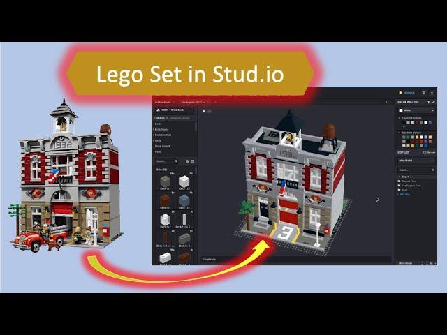 Lego Sets in Stud.io importieren - Tutorial