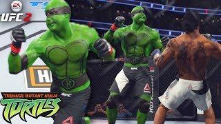 Raphael! Teenage Mutant Ninja Turtles! Rare Submission In UFC 2 - EA Sports UFC 2 Online Gameplay