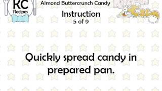 Almond Buttercrunch Candy - Kitchen Cat