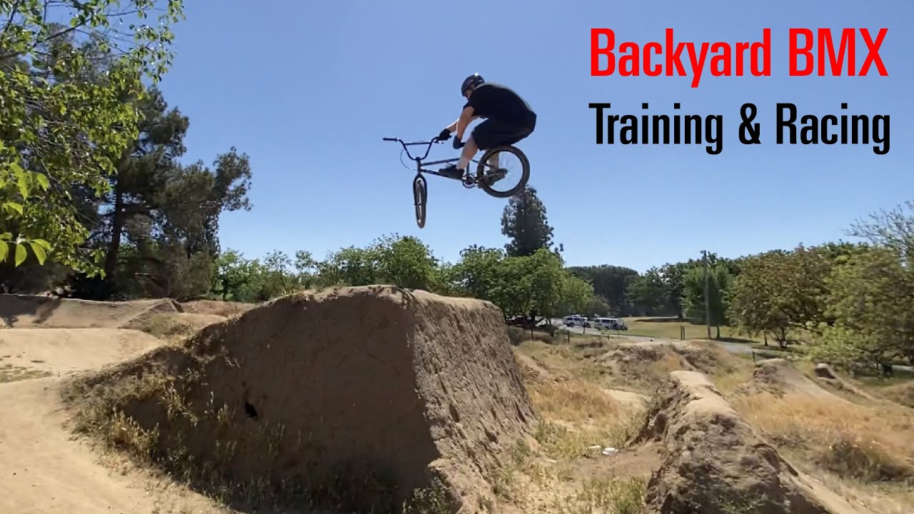 Backyard BMX Track Training and Racing State Series on Haro Blackout 2021