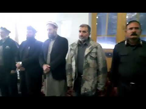 Opening Ceremony in Nuristan Province