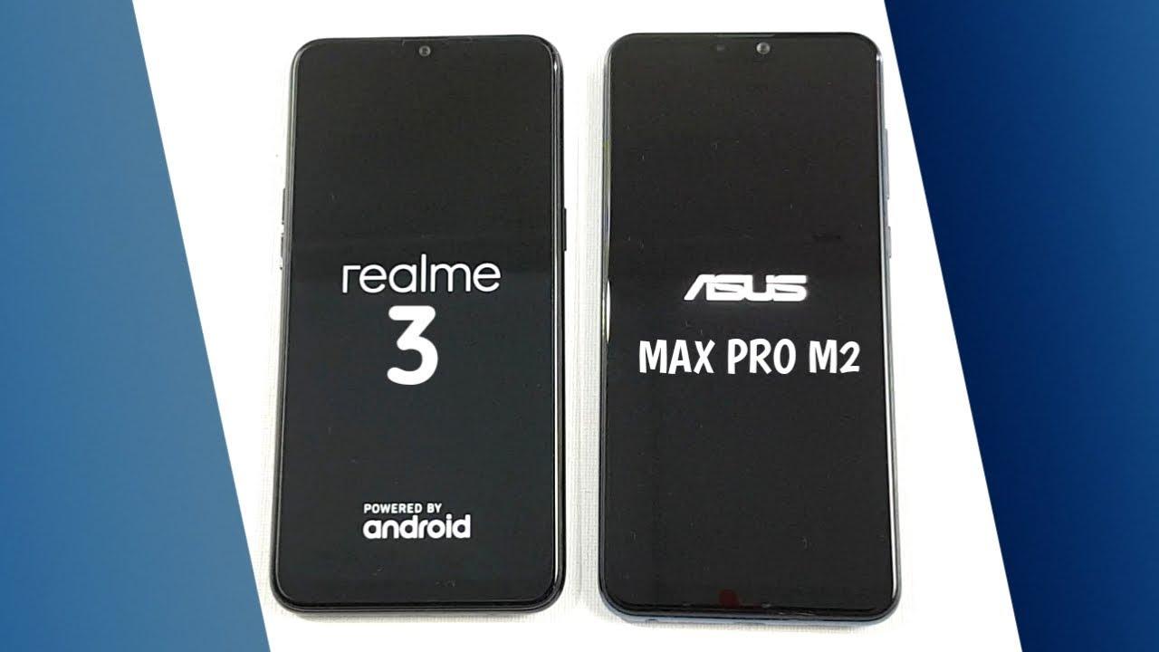 Realme 3 Vs Asus Zenfone Max Pro M2 Speedtest Camera Comparison