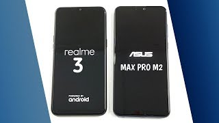 Realme 3 vs Asus Zenfone Max Pro M2 SpeedTest u0026 Camera Comparison