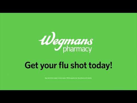 Wegmans Flu Shots Now Available