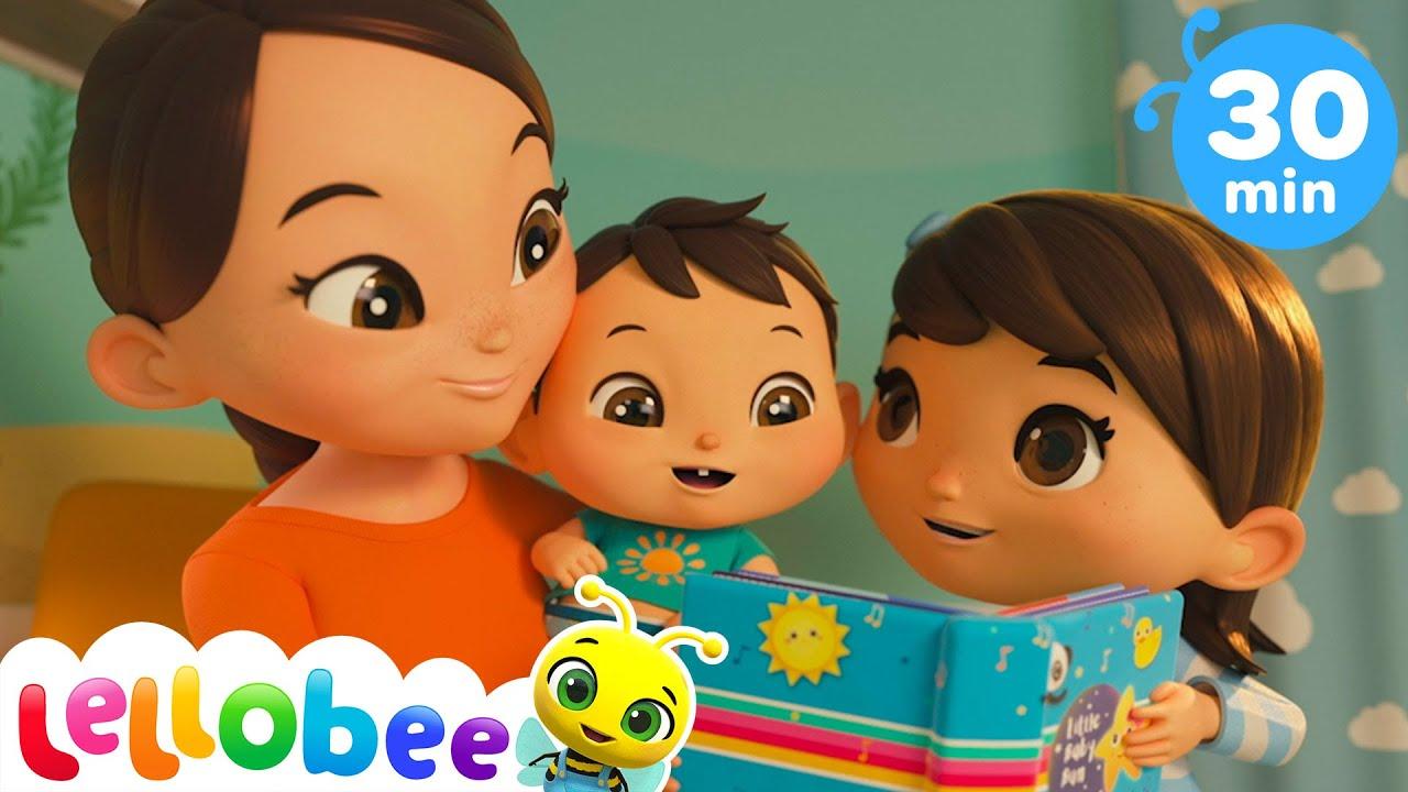 Time For Nap Time! - Twinkle Twinkle Little Star + More Nursery Rhymes & Kid Songs - Lellobee