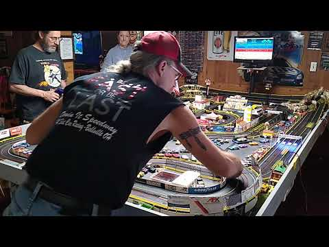 h.o. slot car stock car race 1/24/21 with car details and class rules.