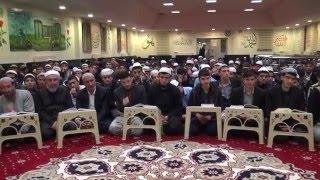 Suffe Kuran Kursunda Son Hadis Dersimiz (Muhaddis Muhammed Nazir Khan)