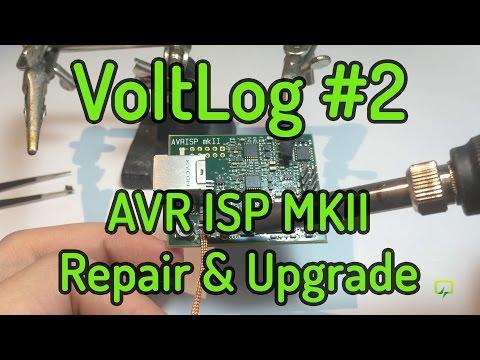 VoltLog #2 - AVR ISP MKII Repair & Upgrade