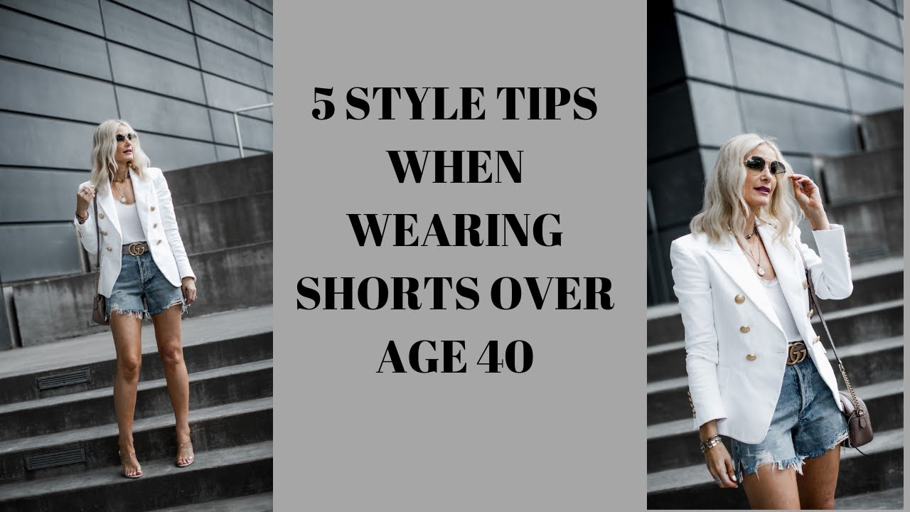 How to Wear Denim Shorts Over 40 | Follow These 5 Style Tips When Wearing Denim Shorts 2