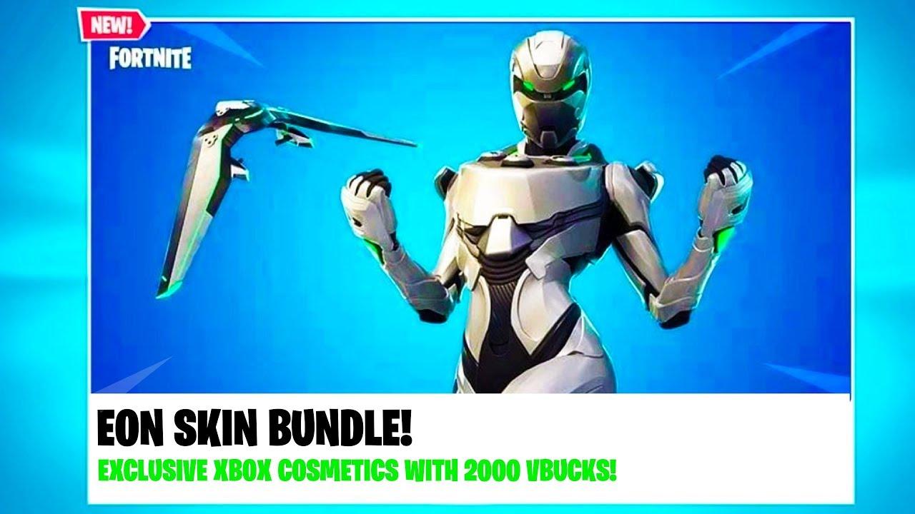 New Fortnite Xbox Exclusive Bundle Eon Skin Bundle Leaked All