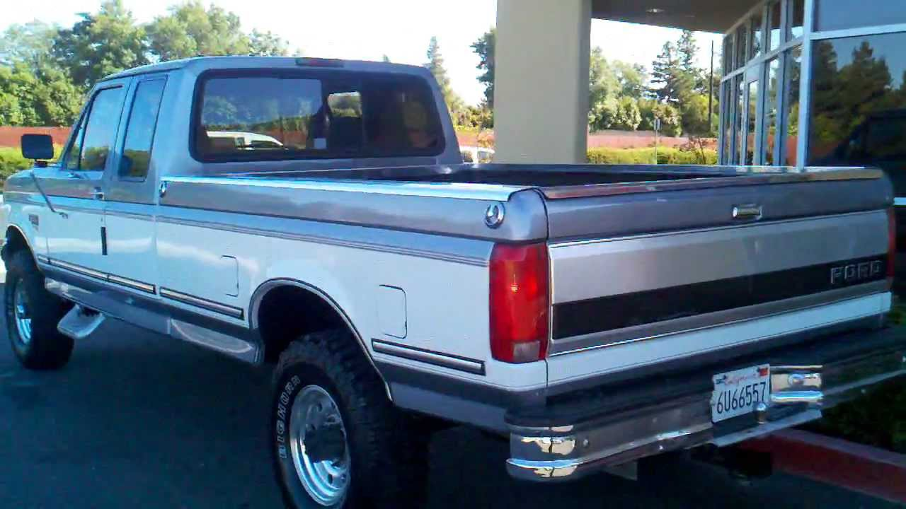 1997 ford f250 hd diesel 4x4 super cab long bed powerstroke 10 995 fees protrucksplus com youtube