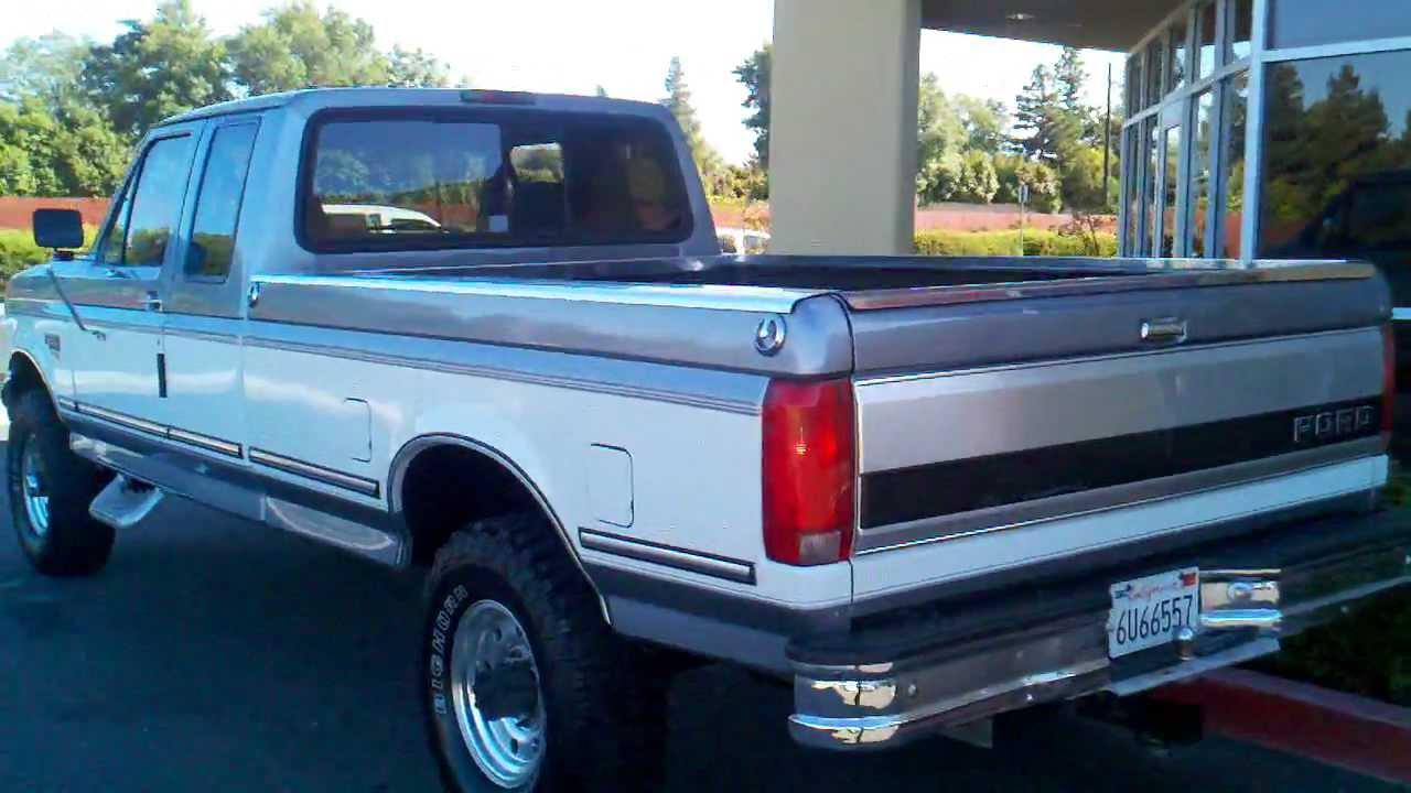small resolution of 1997 ford f250 hd diesel 4x4 super cab long bed powerstroke 10 995 fees protrucksplus com youtube