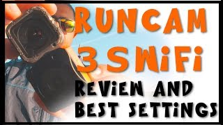 Runcam 3S WIFI REVIEW | Best FPV Settings and VIDEO TEST | Action Cam