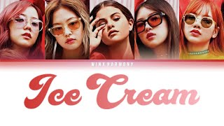 #blackpink #selpink #icecream . blackpink selpink selena gomez and & ft. i...
