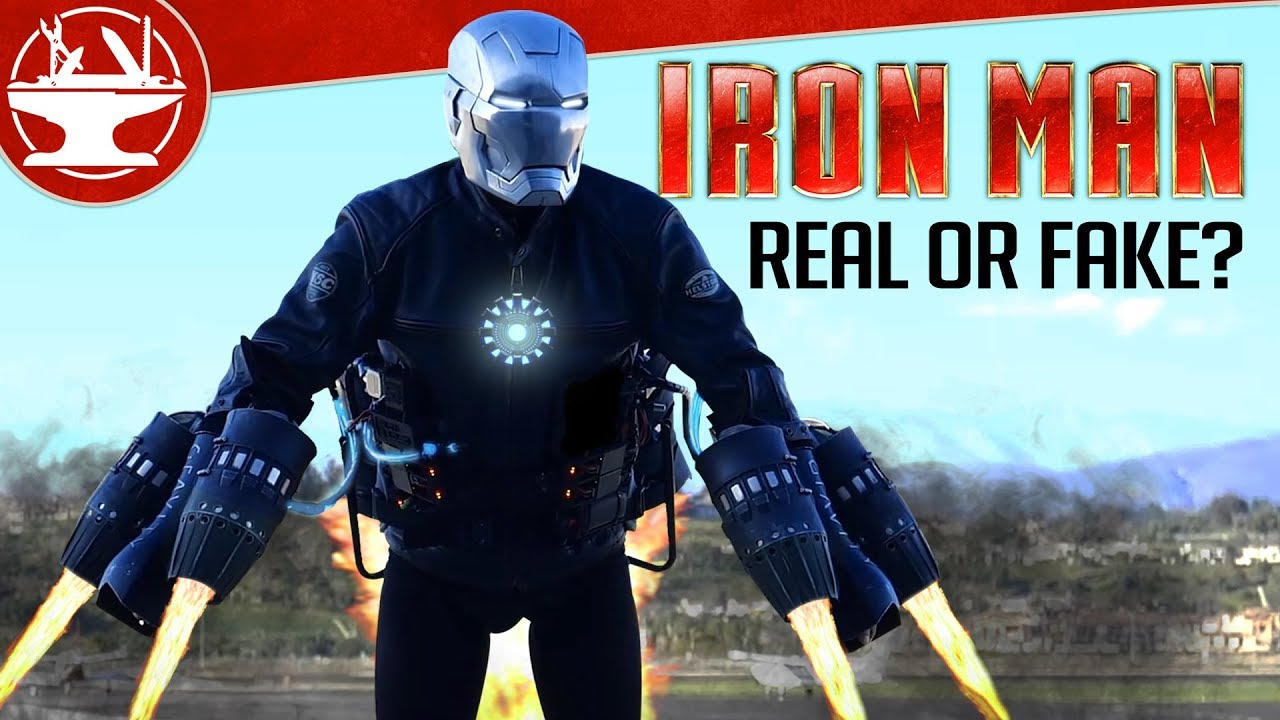The TRUTH About IRON MAN in Real Life!