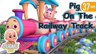 Choo Choo Train | Kids Videos for Kids | Train for kids by Jugnu Kids
