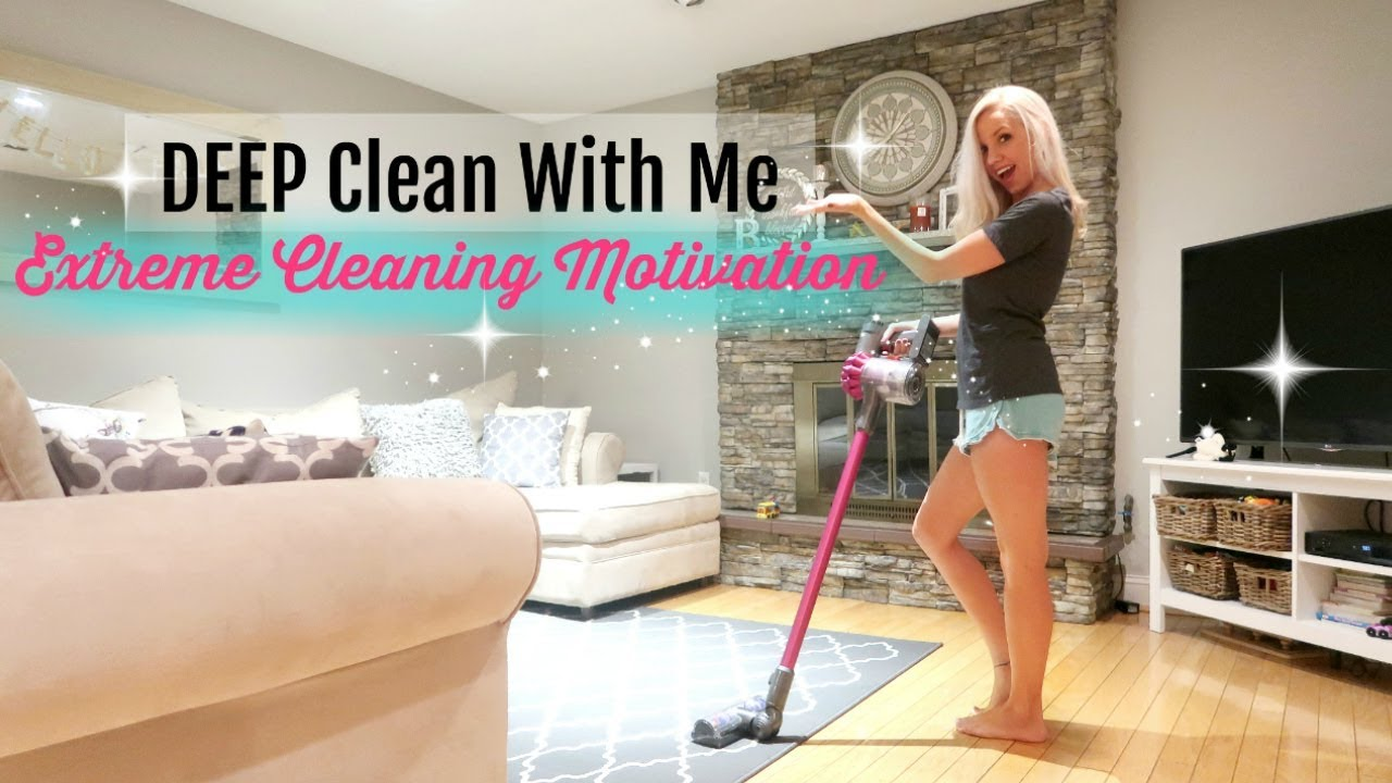 CLEAN WITH ME 2017// EXTREME CLEANING MOTIVATION // DEEP CLEANING ...