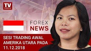 InstaForex tv news: 11.12.2018: Aset apa yang diminati oleh investor: EUR, USD, BITCOIN