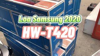 Loa Soundbar Samsung mới 2020 giảm mạnh có gì - Review Loa Samsung HW-T420