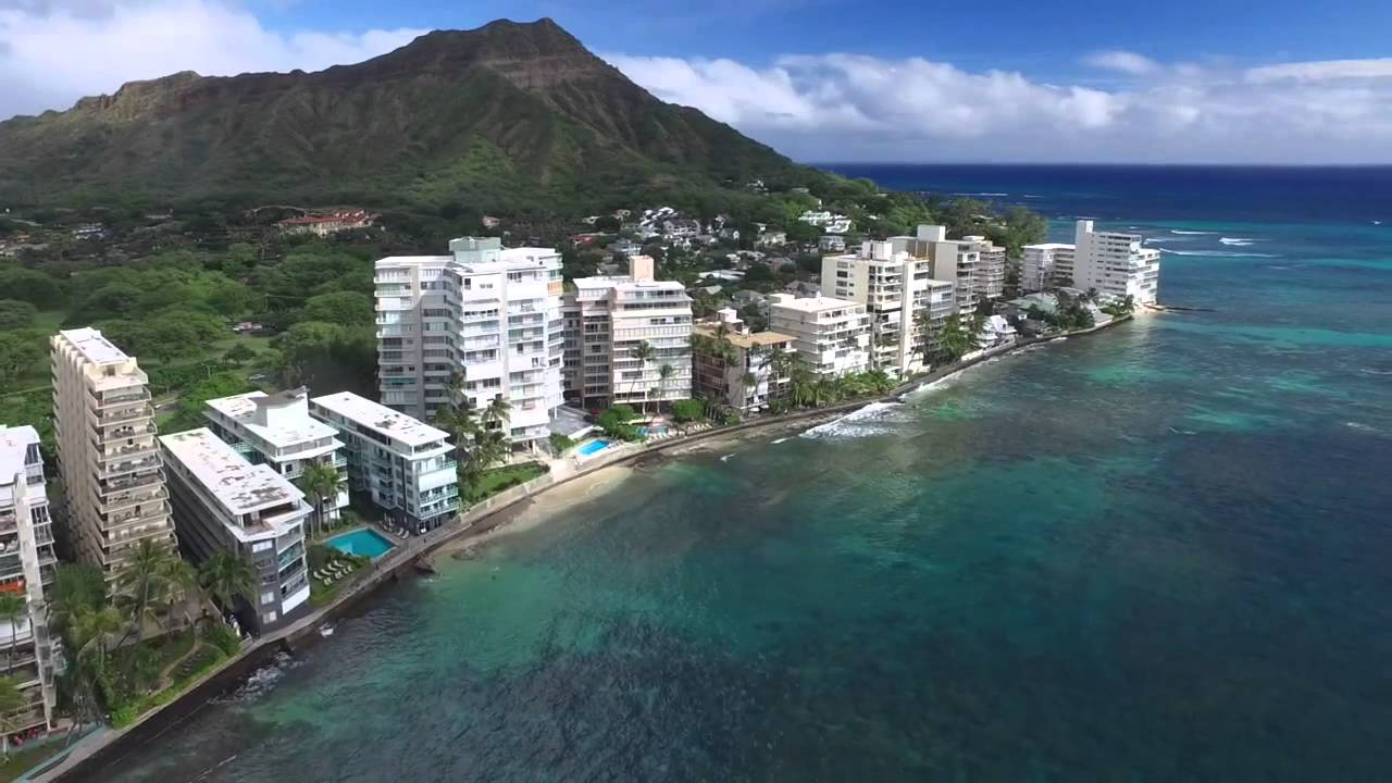 Diamond Head Beach Hotel  Kalakaua Ave Honolulu Hi