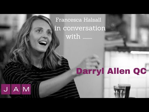 Francesca Halsall in conversation with Darryl Allen QC