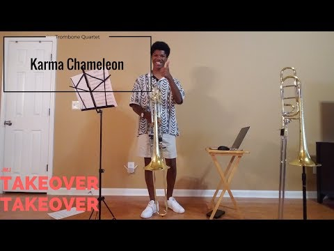 Karma Chameleon: Trombone Quartet