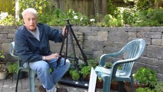 Art Supplies Reviews: Winsor & Newton Aluminum Folding Easel Oil Painting