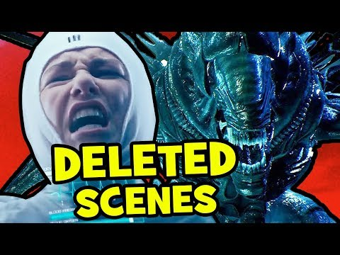 Alien Covenant BONUS + DELETED Blu-ray Scenes Explained