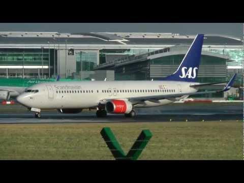 Dublin Airport - Runway 28 movements - Inc. SAS, EI, FR etc