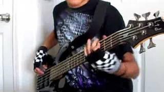 Skillet- Fingernails (Bass Cover)