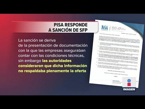 Pisa responde a multa millonaria del Gobierno por información falsa