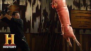 Forged in Fire: Gunto Final Round: Richey vs. Elijah (Season 6) | History