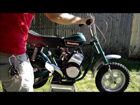 Rupp Mini Bike, Scrambler