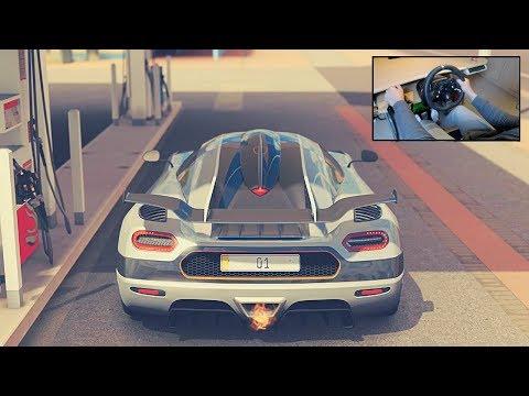 Koenigsegg  One:1 - Forza Horizon 3 (Steering Wheel + Shifter) Gameplay