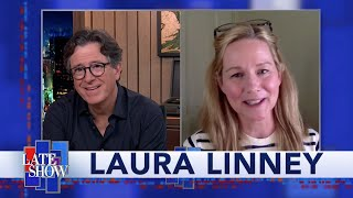 Laura Linney's Lifetime Of Theater Training Helps Her Get By During Tough Times