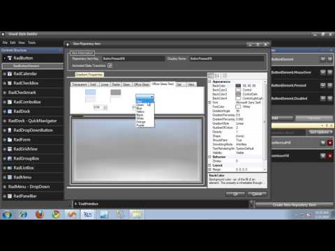 Introduction to the New Visual Style Builder for WinForms