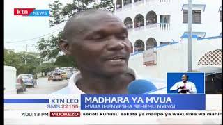 Mombasa mafuriko yalishuhudiwa  katika mitaa ya Kisauni, Majengo na Likoni