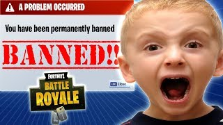 CHILD RAT IS BANED BY HACKS TROLLEOS IN FORTNITE #3