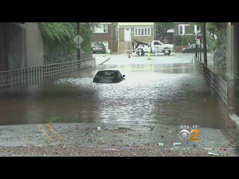 Rain Brings Flooding Across New Jersey