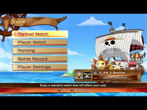 One Piece:Burning Blood Gold Edition - TeaM BaM (Cookie King ¤ BamVam Basmati)  