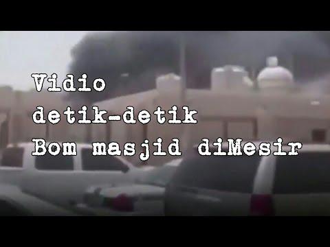 Video Detik-detik Bom Masjid di Mesir