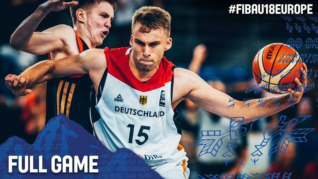 Germany v Russia - Full Game - FIBA U18 European Championship 2017