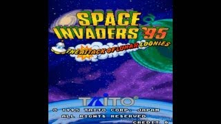 Space Invaders '95: The Attack of Lunar Loonies 1995 Taito Mame Retro Arcade Games