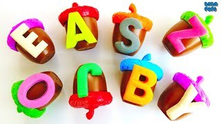 ABC Song|Learn Alphabet ABC|ABC Party|Learn Colors|ABC Squishy GlitterFoam| Play Doh|ABC compilation